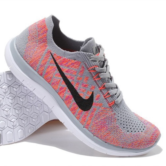 d76346c6237b2 NIKE Free 4.0 Flyknit Running Shoes. M 5b7e056a34a4ef1d1face1a1